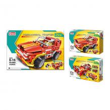Купить конструктор 2 в 1 наша игрушка, радиоуправляемый внедорожник-родстер, 472 детали ( id 11579275 )