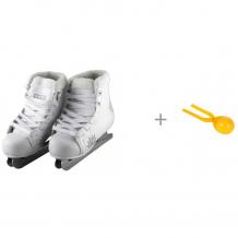 Купить atemi коньки двухполозные snow baby aksk-17.09 и 1 toy игрушка для формирования снежков