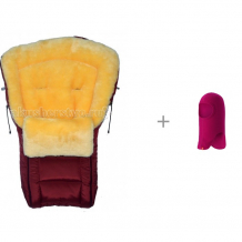 Купить reima шапка-шлем зимняя 528617 с зимним конвертом baby elite elina