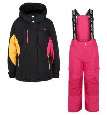 Купить комплект куртка/полукомбинезон gusti boutique, цвет: черный ( id 6491689 )