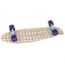 Купить скейт мини круизер пластборд casual beige 7.25 x 27 (68.5 см) бежевый 1176940