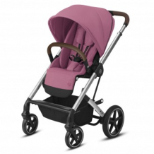 Купить прогулочная коляска cybex balios s lux slv magnolia pink, розовый cybex 997162235