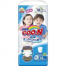 Купить трусики-подгузники goon xl 12-20 кг. 38 шт ( id 12286310 )