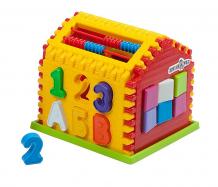 Купить сортер kinder way домик-сортер с часами и счетами р96192