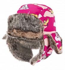 Купить шапка lappi kids, цвет: розовый ( id 3348773 )