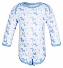 Купить боди чудесные одежки 540157, цвет: белый/голубой ( id 5792713 )