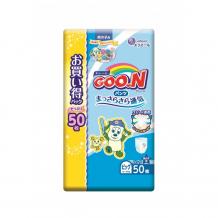 Купить goon подгузники-трусики xl (12-20 кг) для мальчика 50 шт. 853158/853509
