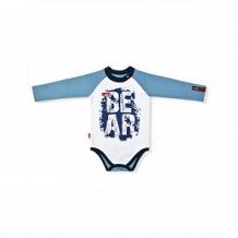 Купить боди leo bear, цвет: голубой ( id 11200382 )