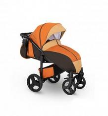 Купить прогулочная коляска camarelo elf, цвет: оранжевый джинс/бежевый ( id 10053510 )
