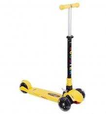 Купить самокат leader kids qqbear, цвет: желтый qqbear yellow