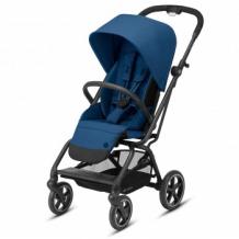 Купить коляска прогулочная cybex eezy s twist+ 2 blk navy blue с бампером и дождевиком, синий cybex 997172548