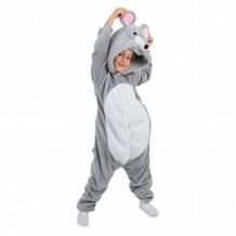 Купить кигуруми fun time, цвет: серый/белый ( id 11967898 )