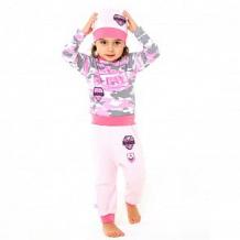 Купить брюки котмаркот папина дочка, цвет: хаки/розовый ( id 12478324 )