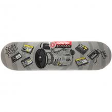 Купить дека для скейтборда для скейтборда footwork carbon tushev 1000 grey 31.75 x 8.25 (21 см) серый 1204722