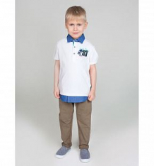 Купить футболка-поло sweet berry острова, цвет: белый ( id 10342856 )