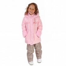 Купить комплект куртка/полукомбинезон милашка сьюзи, цвет: розовый/бежевый ( id 11446474 )