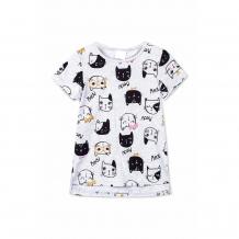 Купить футболка play today shining cat, цвет: серый ( id 11169236 )