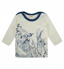 Купить футболка ёмаё органик, цвет: бежевый/синий ( id 9856704 )