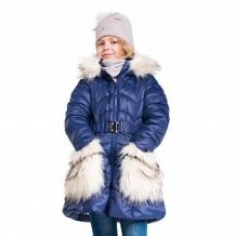 Купить пальто boom by orby, цвет: синий ( id 11118662 )
