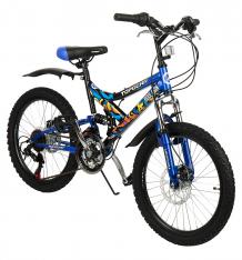Купить детский велосипед top gear hooligan, цвет: синий вн20038