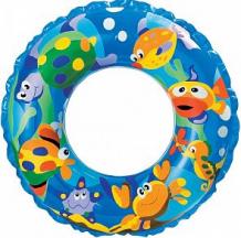 Купить надувной круг intex рифы океана, синий, 61 см ( id 5606005 )