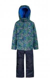 Купить комплект куртка/полукомбинезон zingaro by gusti, цвет: синий ( id 6495415 )