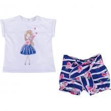 Купить комплект: футболка с коротким рукавом и шорты birba для девочки 10964533