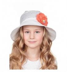 Купить шляпа levelpro kids, цвет: белый/оранжевый ( id 9115003 )