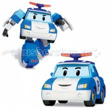 Купить робокар поли (robocar poli) полицейская машина поли трансформер 10 см 83171