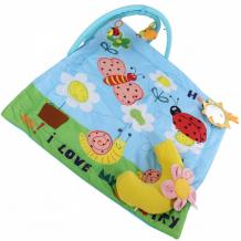 Купить развивающий коврик biba toys веселый сад bp670