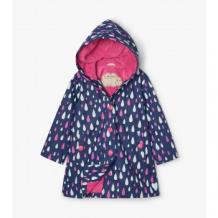 Купить плащ hatley с меняющимся под дождем рисунком, темно-синий mothercare 997175853