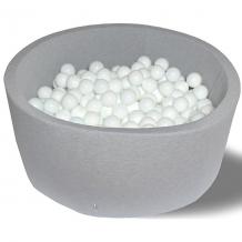 """Купить сухой бассейн hotenok """"первый снег"""" 30 см, 200 шариков 9633874"""