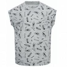 Купить футболка иново, цвет: серый/черный ( id 12811024 )