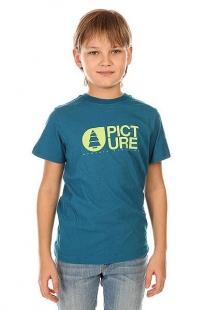 Футболка детская Picture Organic Basement Tee Blue синий ( ID 1132454 )