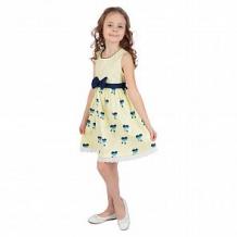 Купить платье малинка, цвет: желтый ( id 11359318 )