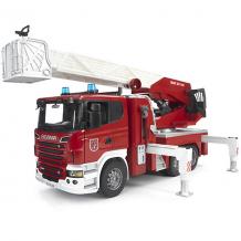 Пожарная машина Bruder Scania с выдвижной лестницей и помпой ( ID 2514132 )
