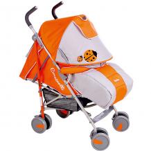 Купить коляска-трость bambola , божья коровка, оранжевый/св.серый 4828338