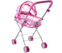 Купить коляска для куклы yako люлька металлическая со складной крышей д79289 д79289