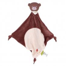 Комфортер Wildwood Игрушка-платочек и прорезыватель Медведь 32 см 80025