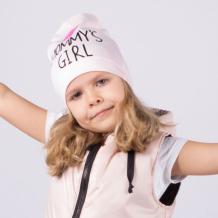 Купить hohloon однослойная шапка мамина дочка шл20