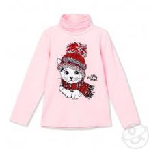 Купить водолазка play today snow college, цвет: розовый/белый ( id 11782852 )