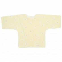 Купить распашонка чудесные одежки, цвет: желтый ( id 12491548 )