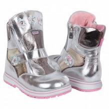 Купить ботинки bebetom, цвет: серебряный ( id 10924355 )