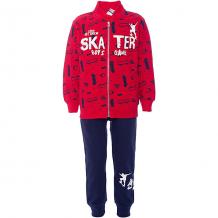 Купить комплект: футболка с длинным рукавом, брюки ido для мальчика 9177123