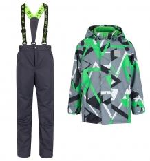 Купить комплект куртка/брюки stella, цвет: серый/зеленый ( id 8720935 )