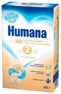 Купить humana заменитель га 2 с 6 мес. 300 г 73912
