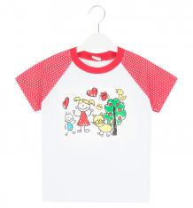 Купить футболка светик, цвет: белый/красный ( id 9133339 )