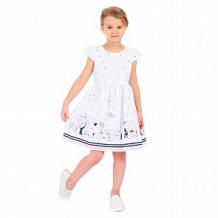 Купить платье малинка, цвет: белый ( id 11544454 )