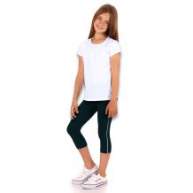 Купить комплект футболка/капри апрель физкультура, цвет: белый/т.синий ( id 10817585 )
