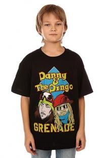 Футболка детская Grenade Danny & Dingo Black черный ( ID 1132421 )